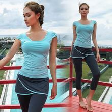 Seamless Workout Clothes For Women Yoga Set Sport Suit Sportswear Gym Fitness Outfit Sets Push Up Leggings