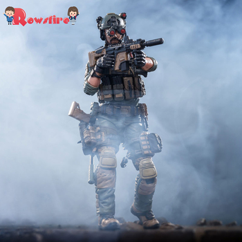 10.5cm 1/18 Removable Soldier Model CIA Special Action Team Member Model with High Degree of Reduction