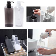 600ML Soap Dispenser Bottle Bathroom Hand Sanitizer Cosmetics Bottles Shampoo Shower Gel Lotion Container Empty Travel Bottle