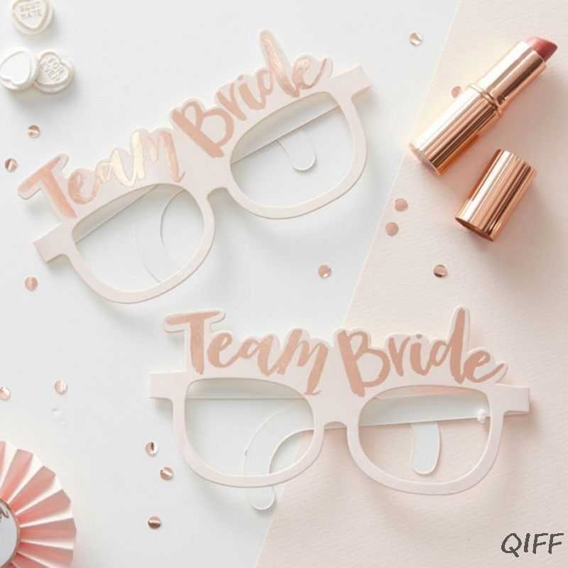 Bachelorette Hen Party Decorations Kit Bride to Be Sash Wedding Veil Badge Glasses Banner Headband Tattoos Night Out Supplies
