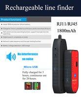 뜨거운 판매 rj11 rj45 cat5 cat6 전화선 추적기 추적기 토너 이더넷 lan 네트워크 케이블 테스터 감지기 라인 파인더
