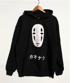 Animated Cartoon Hoodies Men's 2020 Autumn Winter Fleece Sweatshirts Hip Hop Casual Cotton Pullover Skateboard Hoodie 1