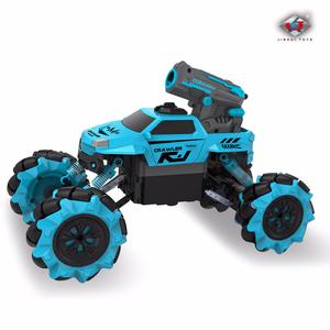 Image 5 - 1:16 Wireless Remote Control 2 IN1 Hubble bubble Water Jet Drift RC car Resistance To Fall Motor driven Stunt Automobile dance