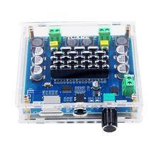 XH-A105 inalámbrico Bluetooth 5,0 TDA7498 100w + 100w Digital placa amplificadora DE POTENCIA ESTÉREO amplificador de Audio amplificador soporte TF tarjeta AUX