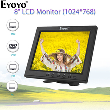 "Eyoyo EM08B 1"" FHD 1920x1080 ips HDMI lcd монитор безопасности экран Аудио Дисплей для ТВ компьютера ПК Компьютерная камера DVD CC tv DVR"
