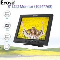 Eyoyo EM08B 12 FHD 1920x1080 IPS HDMI LCD Security Monitor Screen Audio Display for TV Computer PC Computer Camera DVD CCTV DVR