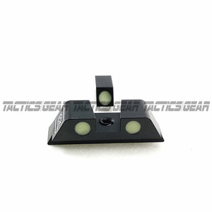 Image 3 - Hunting Pistol Handgun Glow in the Dark Night Sights Front and Rear Sight Set For Glock 17, 19, 22, 23, 24, 27, 33, 34, 35