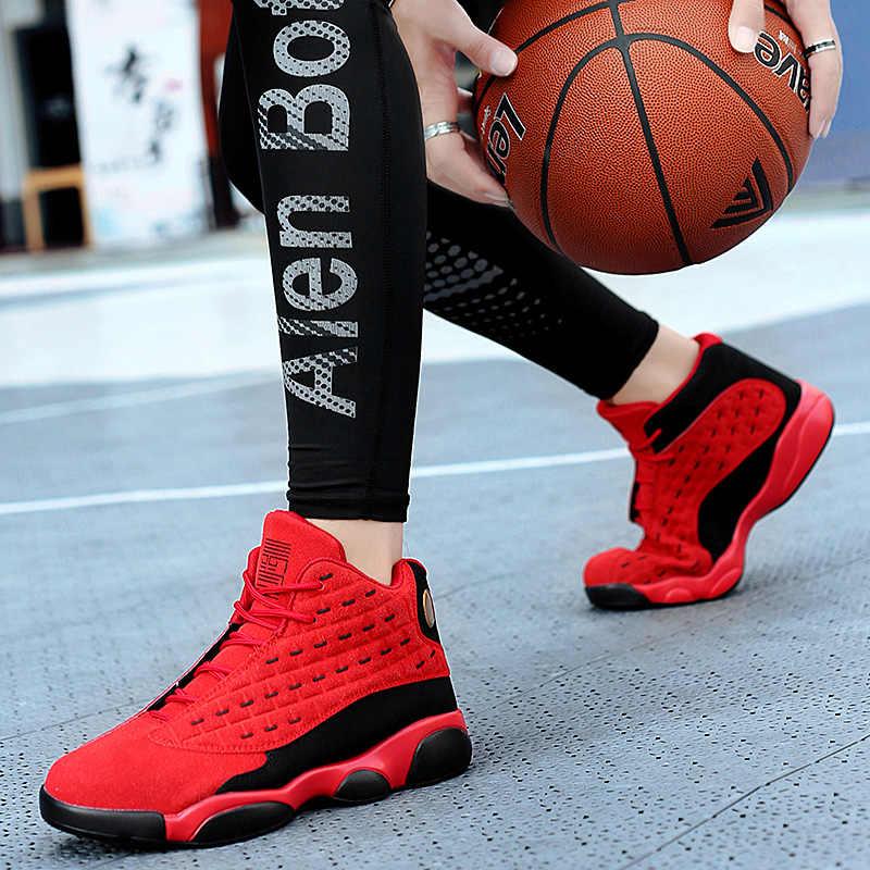 Erkek erkek basketbol ayakkabıları 2019 yeni marka basketbol ayakkabı erkekler kaymaz Retro ürdün ayakkabı sepet Homme Chaussure kadın ayakkabı