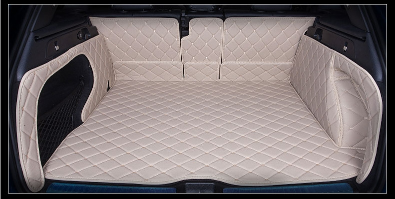 Spécial plein entouré tapis imperméable antidérapant Durable résistant à l'usure voiture coffre tapis pour Mercedes Benz GLC 300 260 200