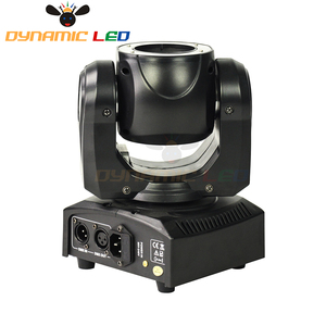 Image 5 - Mini 60W Moving Head Light With Halo Effect Beam Led Stage lighting RGBW 4in1 Dj Light