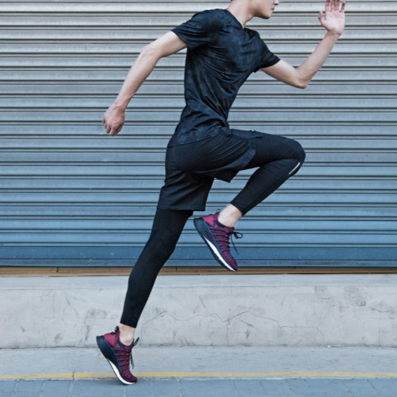 Xiao mi mi jia chaussures 3 hommes en cours d'exécution sport Sneaker Composite mi dsole PU Stable couche de soutien épaisse éponge semelle intérieure confortable - 3