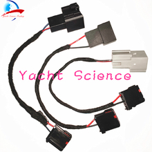 1 шт. для Ford SYNC3 модифицированный USB медиахаб Адаптер Питания Жгут электропроводки адаптер(Gen 1)(Gen 2a)(Gen 2b) Кабель Apple CarPlay