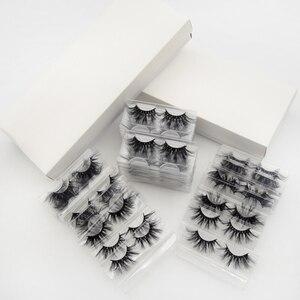 Image 5 - Visofree 40 Pairs/pack 25mm Lashes 3D Mink Lashes Makeup 25mm Mink Lashes Wholesale Fake Eyelashes Dramatic Eyelashes Reusable