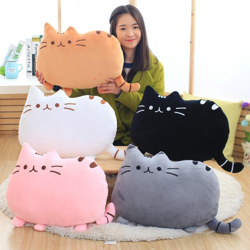 25cm 40cm Pusheen Plush Cat Stuffed Animal & Plush Toys Soft Cat Pillow Pusheen Stuffed Cat Doll for Kids Girl Gift Cheap Toys