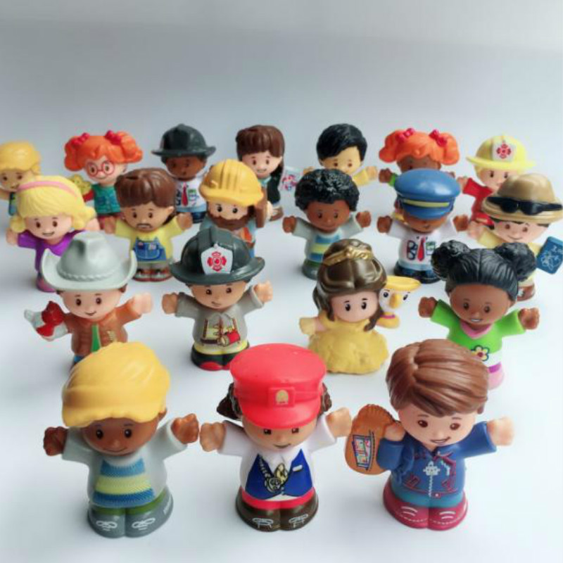 Figure Kid  Toy Doll Gift Random different 10PCS Fisher Price Little People 2in