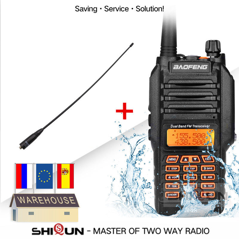 UV-9R With Headset Microphone IP67 Waterproof Dual Band Radio 10KM Baofeng 8W Walkie Talkie 10 KM UV-82 UV-5R UV-XR UV 9R Plus