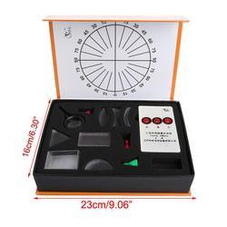 Optyczna wklęsła soczewka wypukła pryzmat zestaw fizyczny zestaw optyczny sprzęt laboratoryjny w Pryzmaty od Narzędzia na