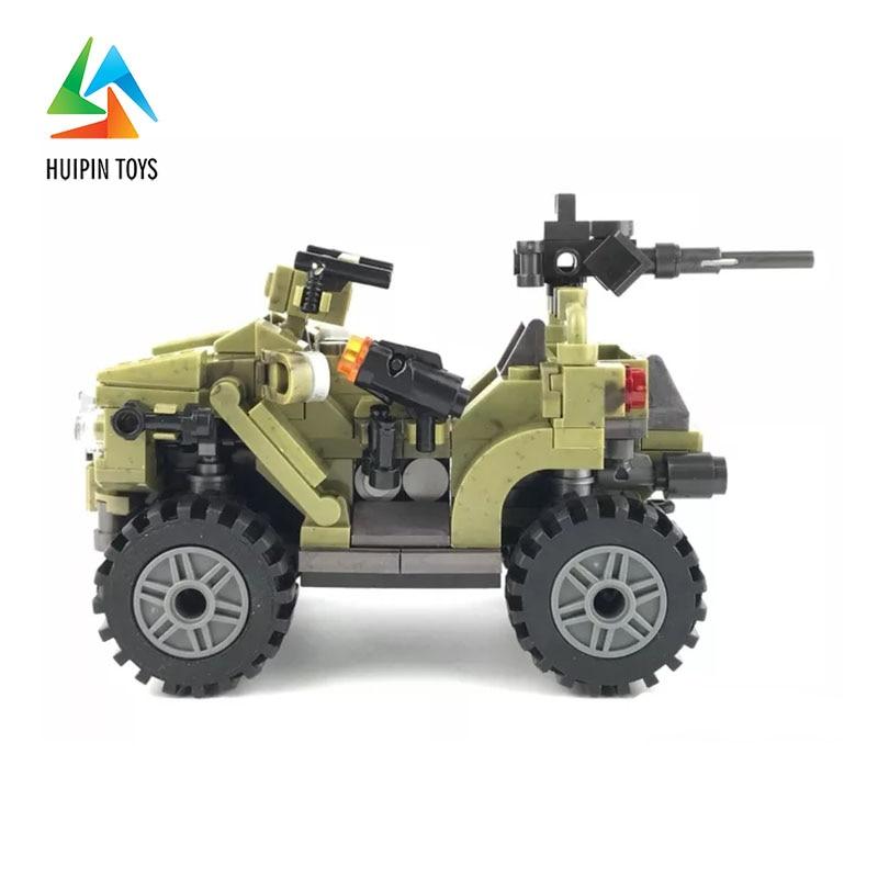347Pcs XINGBAO Building Blocks XB-06010 Across The Battlefield:Oprah Sand Car Model Children Toys Bricks 4Px To DE 1