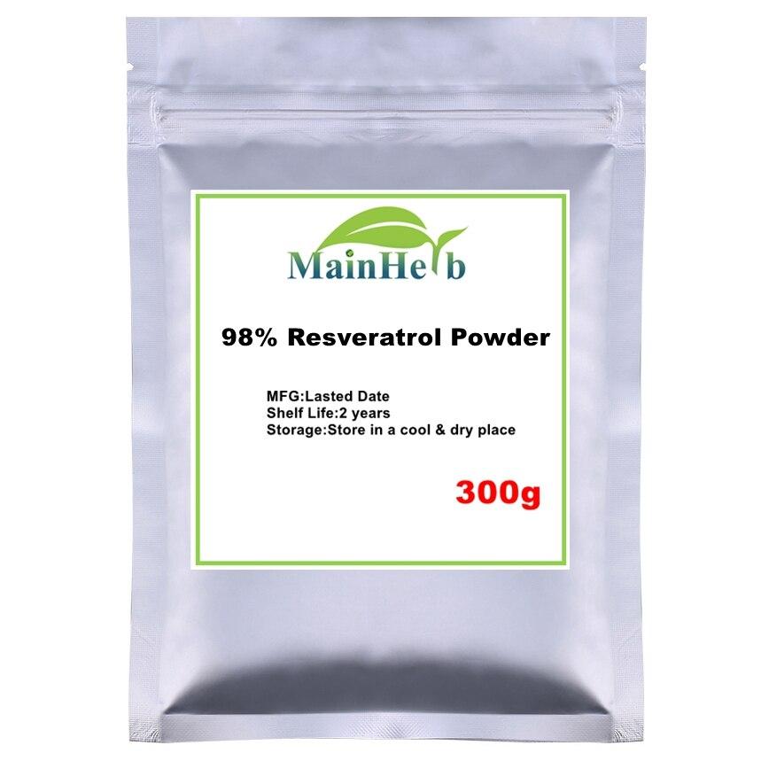 100 1000g 98 Resveratrol Powder Resveratrol Extract Trans Resveratrol Trans For Anti Aging Bacterial Improve Immunity Serum Aliexpress