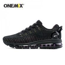 ONEMIX Zapatillas de correr para hombre y mujer, calzado deportivo de malla reflectante, para deportes al aire libre, para correr y caminar