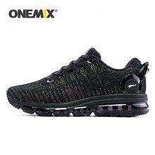 Onemix tênis de corrida para esportes masculinos tênis para mulher reflexivo malha vamp tênis para esportes ao ar livre jogging andando sapatos