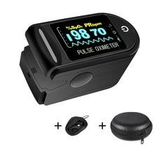 Medidor de medição do sensor de oxigênio no sangue para casa esportes oxímetro de dedo