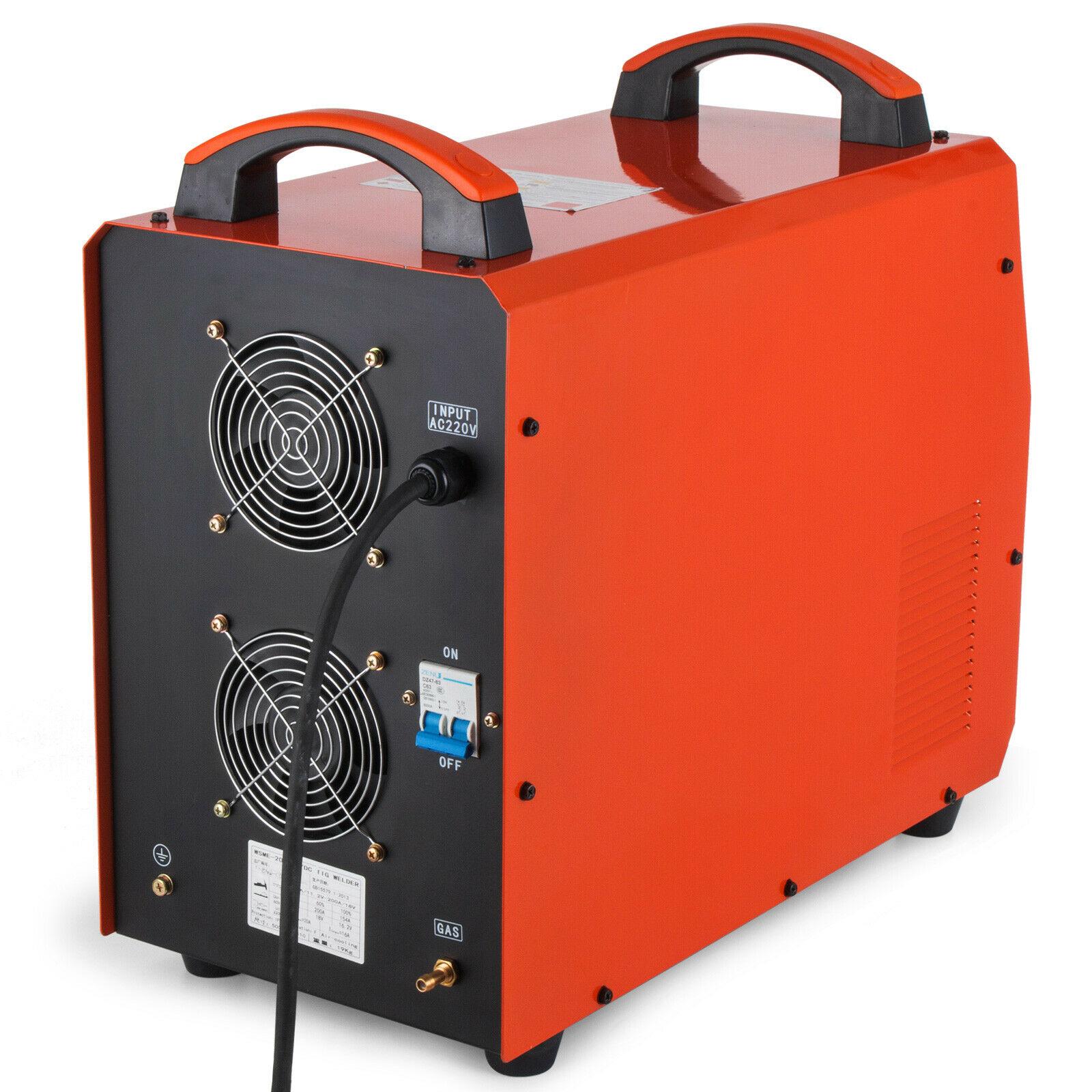 Aluminum Inverter PULSE Welding 1   TIG Inverter IGBT 3   HF In MMA AC TIG  DC 200Amp Machine Welding