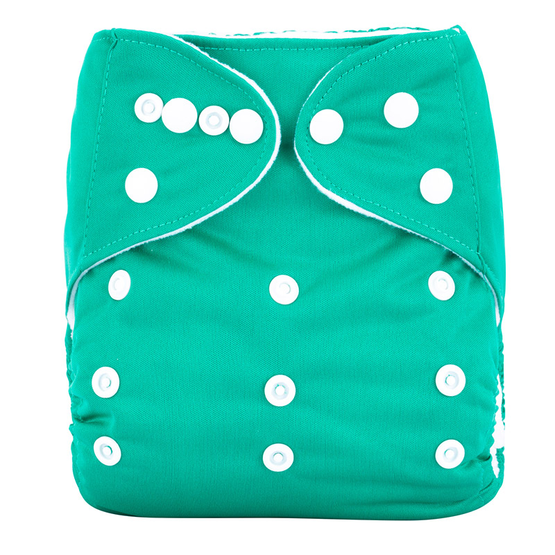 Prefold Diaper Waterproof Pul Fabric Modern Cloth Nappies Oem Bag Style Sleepy Cotton Baby Diapers A29