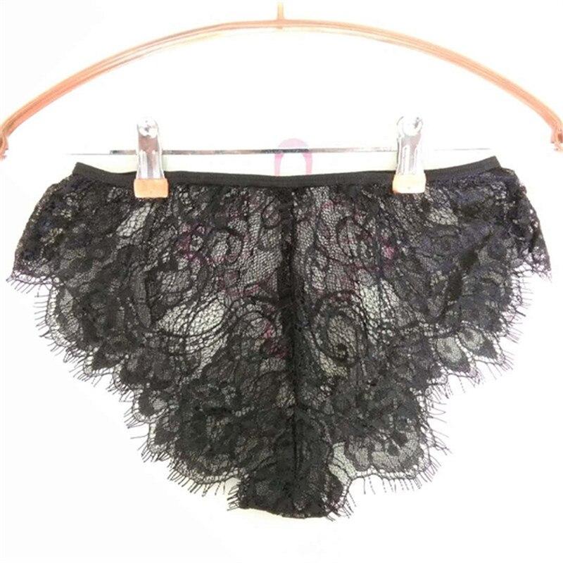 S-4XL Women Fashion Underwear Plus Size Lace Panties Sexy Lingerie Panties Transparent Underwear Hot Sale Transparent Knickers