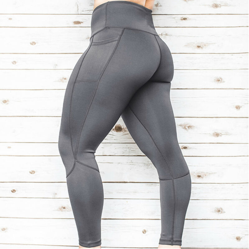 2019 New Hot Summer <font><b>Sexy</b></font> Fashion Lady <font><b>Women</b></font> <font><b>High</b></font> <font><b>Waist</b></font> <font><b>Yoga</b></font> Gym <font><b>Pants</b></font> <font><b>Fitness</b></font> Sport Exercise Running <font><b>Leggings</b></font> Trousers image