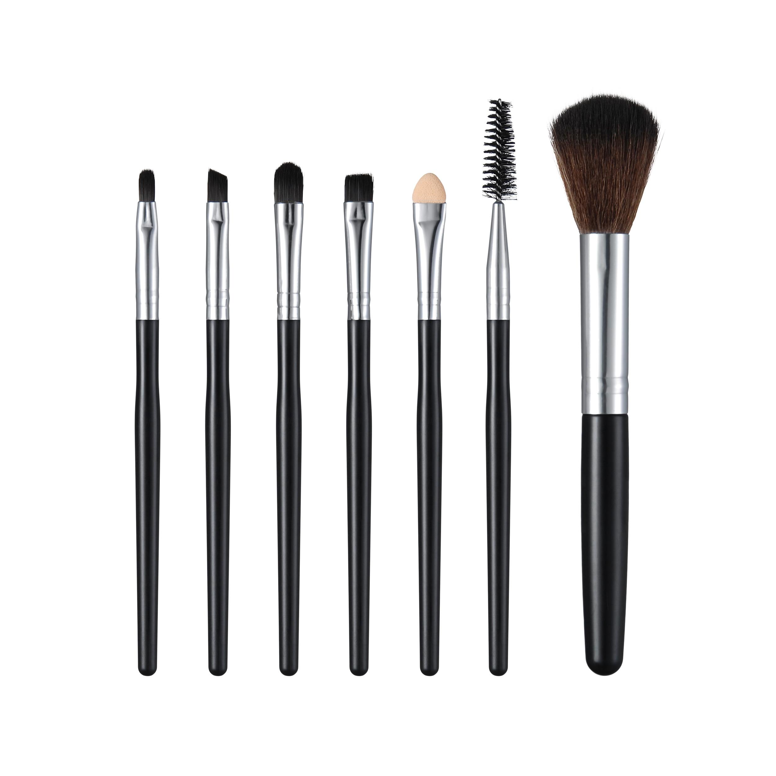 7pcs Mini Brush Beauty Makeup Brushes Premium Professional Eyeshadow Brush Set Synthetic Cosmtics Brushes Set