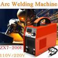FORGELO ZX7-200E сварочный инвертор переменного тока 110 В/220 В IGBT MMA Сварочный светодиодный дисплей дуговые сварочные аппараты 20-140A для начинающих д...