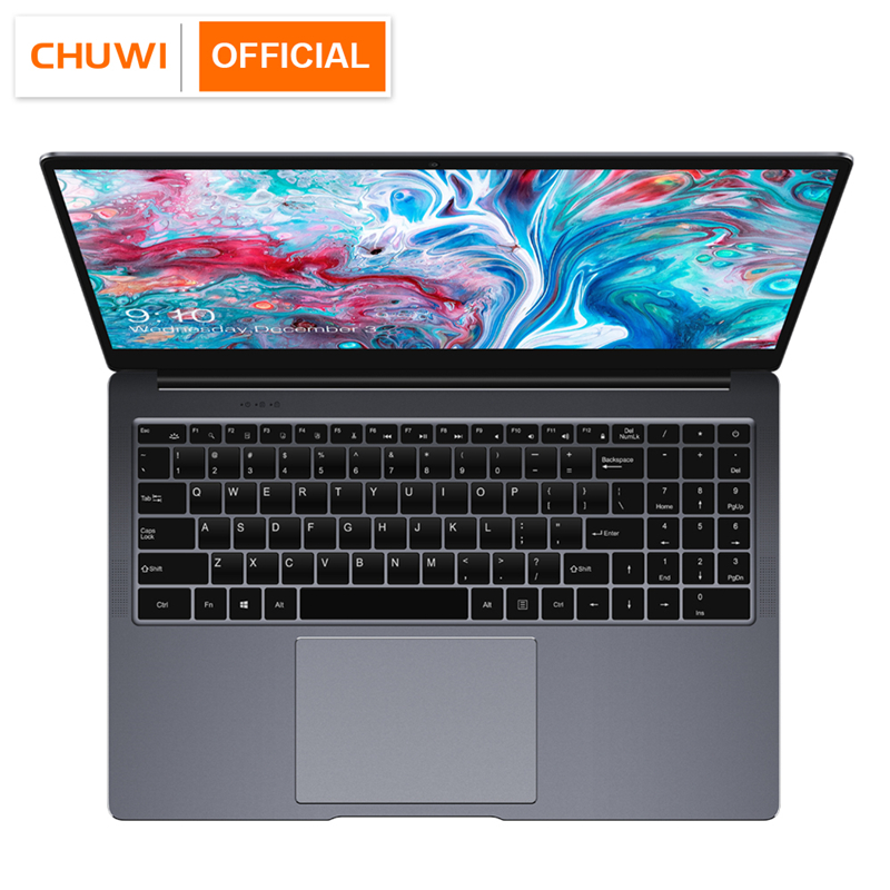 CHUWI LapBook Plus 15.6 Inch 4K Screen Intel X7 Quad Core DDR4 8GB 256GB SSD Windows 10 Laptop with M.2 Expansion Slot