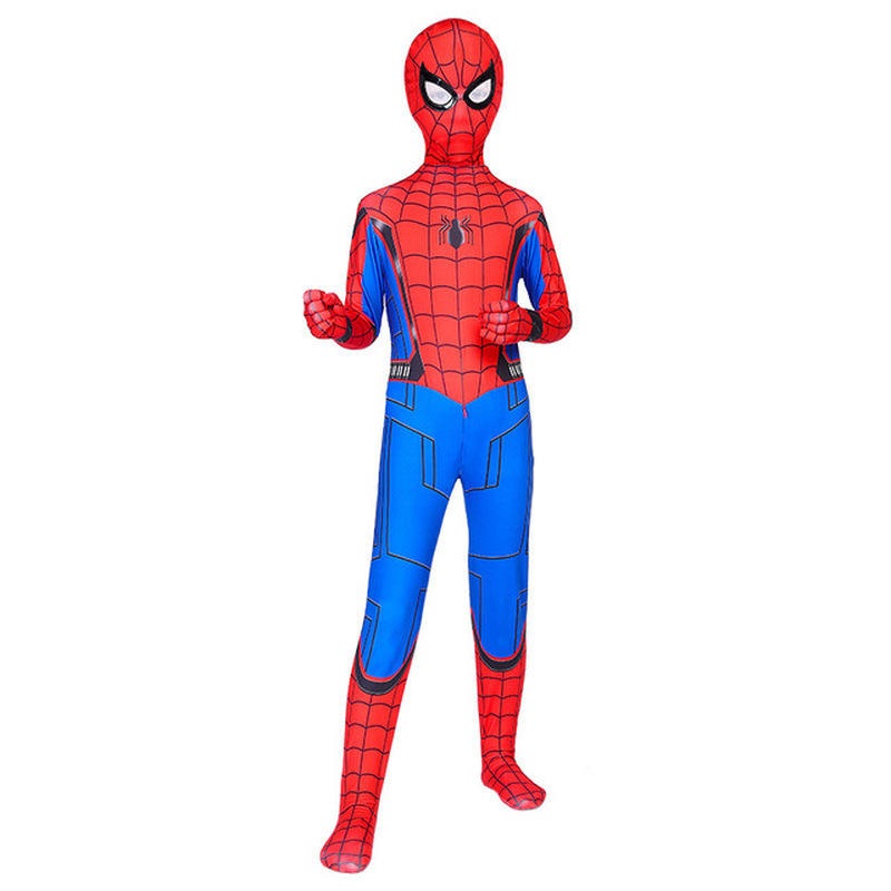 Extraordinary Spider-Man Pantyhose Children's Heroes Returned Siamese Anime Cosplay Costumes and Masks 4