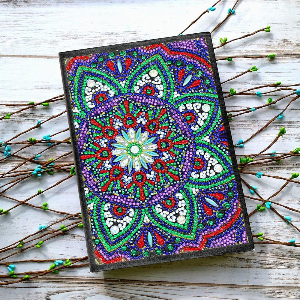 Hot Offer 2faea 5d Diy Diamond Painting Notebook Mandala