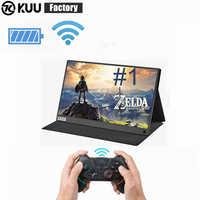 KUU Thin portable lcd HD IPS monitor 15.6