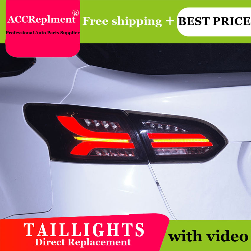 Car Styling for <font><b>Ford</b></font> <font><b>Focus</b></font> <font><b>Taillights</b></font> 2015-2018 for <font><b>Focus</b></font> LED Tail Lamp+Turn Signal+Brake+Reverse LED light image