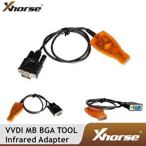 Image 1 - Original Xhorse VVDI MB BGA WERKZEUG Infrarot Smart Key Adapter für Mercedes Benz MB BGA Auto Remote Key Infrarot Stecker kabel