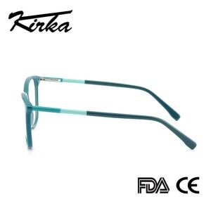 Image 5 - Kirka Glasses Frame Women Vintage Lady Eyewear Frame Clear Lens Glasses Reading Optical Glasses Frame Prescription Glasses Women