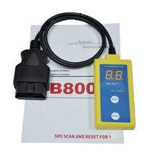 Neueste B800 SRS Scanner Und Resetter Werkzeug für BMW Fit E36 E46 E34 E38 E39 Z3 Z4 X5 B800 Scan zwischen 1994 und 2003B 800