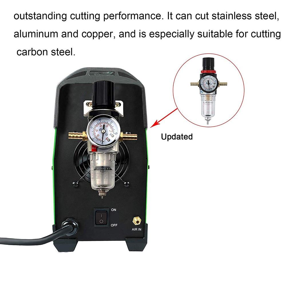 Plasma Cutter CUT 50Amp Pilot Arc Nicht Touch 110/220V IGBT Luft Plasma Schneiden Maschine Dual Volt HF cutter Inverter 1/2