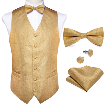 New Teal Green Paisley 100% Silk Formal Dress Vest Men Waistcoat Vest Wedding Party Vest Tie Brooch Pocket Square Set DiBanGu 12