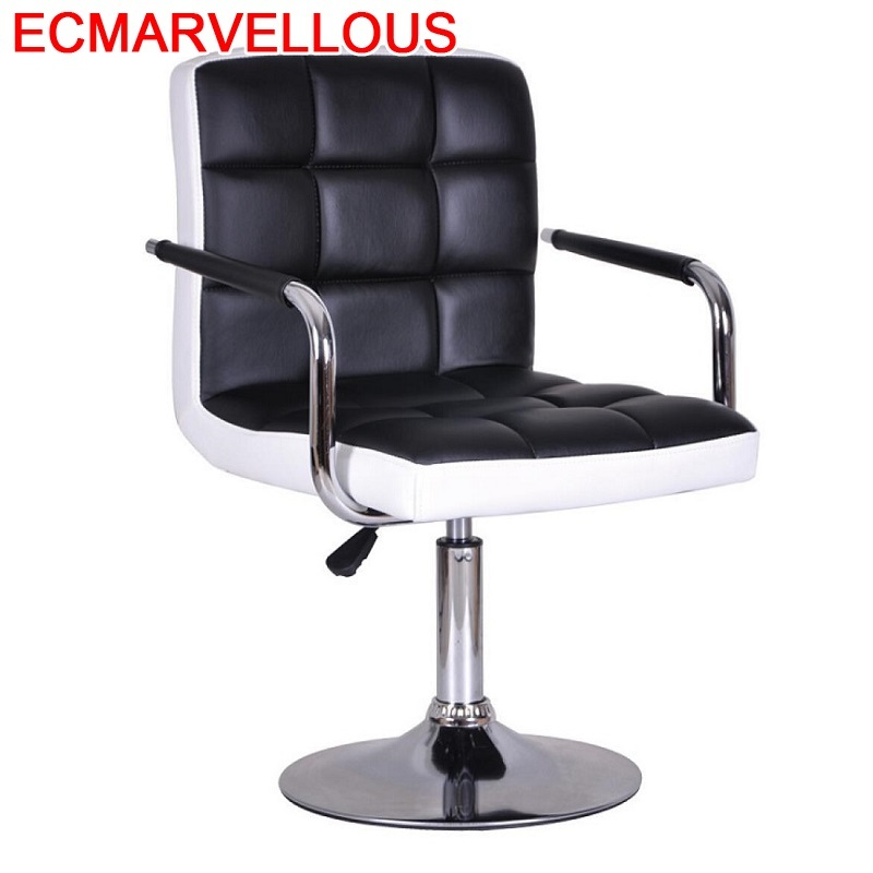 Sedia Hokery Taburete Sandalyeler Fauteuil Cadir Sgabello Table Barkrukken Leather Tabouret De Moderne Silla Cadeira Bar Chair