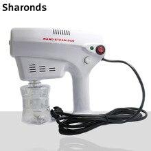 Blue light nano anion spray gun nano spray machine hair dye moisturizing hair care artifact