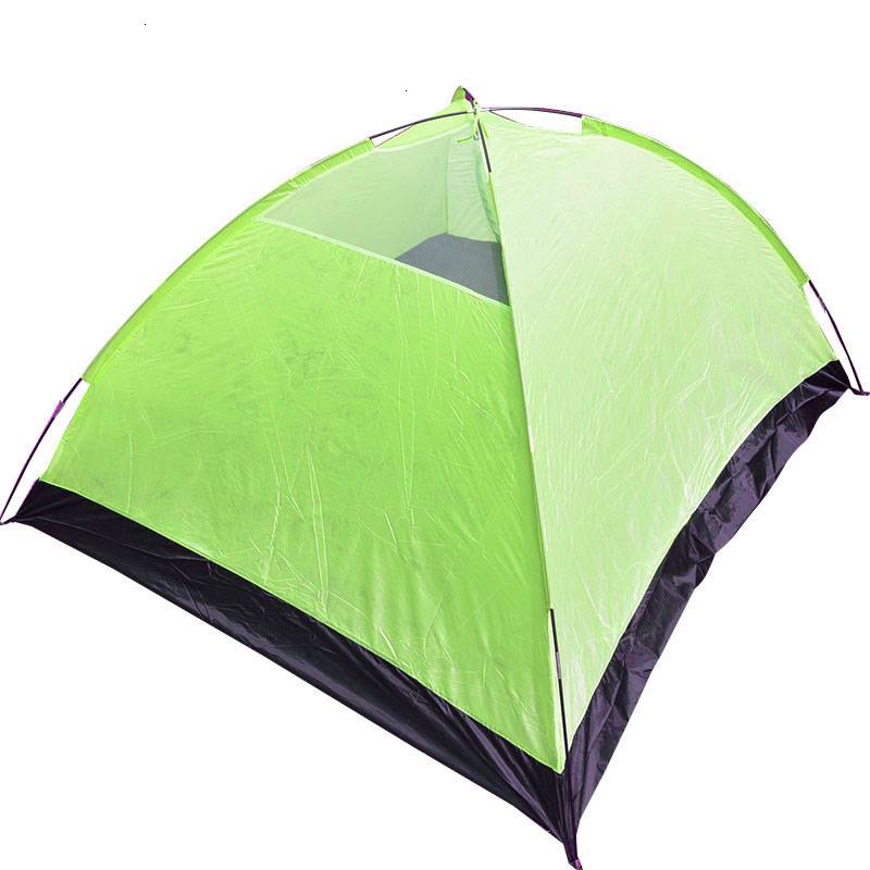 3-4 Person Large Double Layer Tent for Outdoor Camping Hiking Hunting Fishing Travel Picnic Tourist Emergency Tent 320x210x145cm (17)