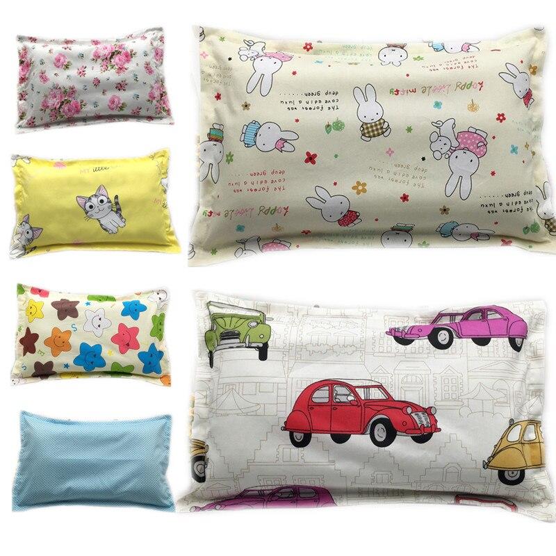 35*50CM 100% Cotton Baby Pillowcase Kids Pillow Case Animal Infant Newborns Pillow Cover Cartoon Children Pillowcase