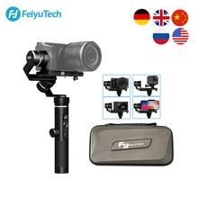 цена на FeiyuTech G6 Plus 3-Axis Handle Splashproof Gimbal Stabilizer for GoPro Hero 5 6 Smartphone Mirrorless Pocket Camera Feiyu G6P