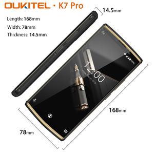 "Image 4 - OUKITEL K7 pro 6.0"" 18:9 Screen 10000mAh Battery Smartphone Android 9.0 MT6763 4GB RAM 64GB ROM Fingerprint Oukitel Mobile Phone"