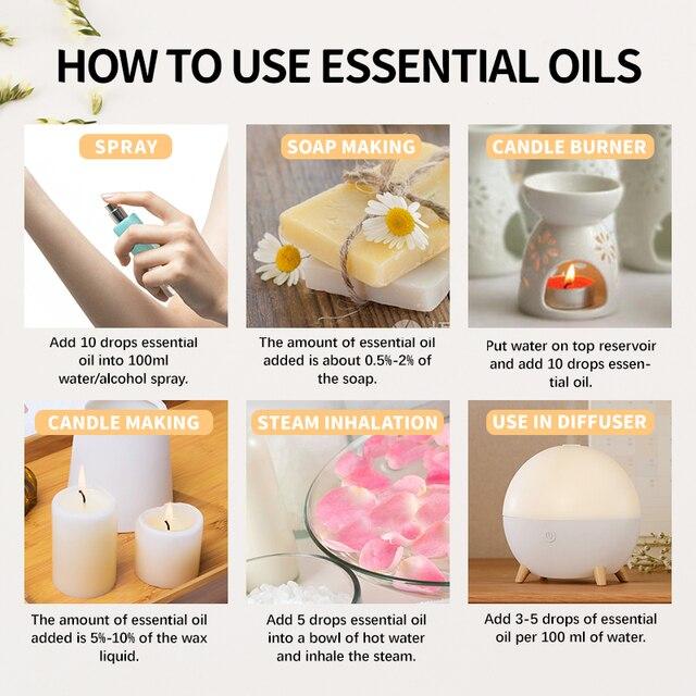 Black Opium Coconut Vanilla Fragrance Oil 10ML with Dropper Perfume Diffuser Essential Oil Angel Jadore Musk Chocolate Milk Oil 4