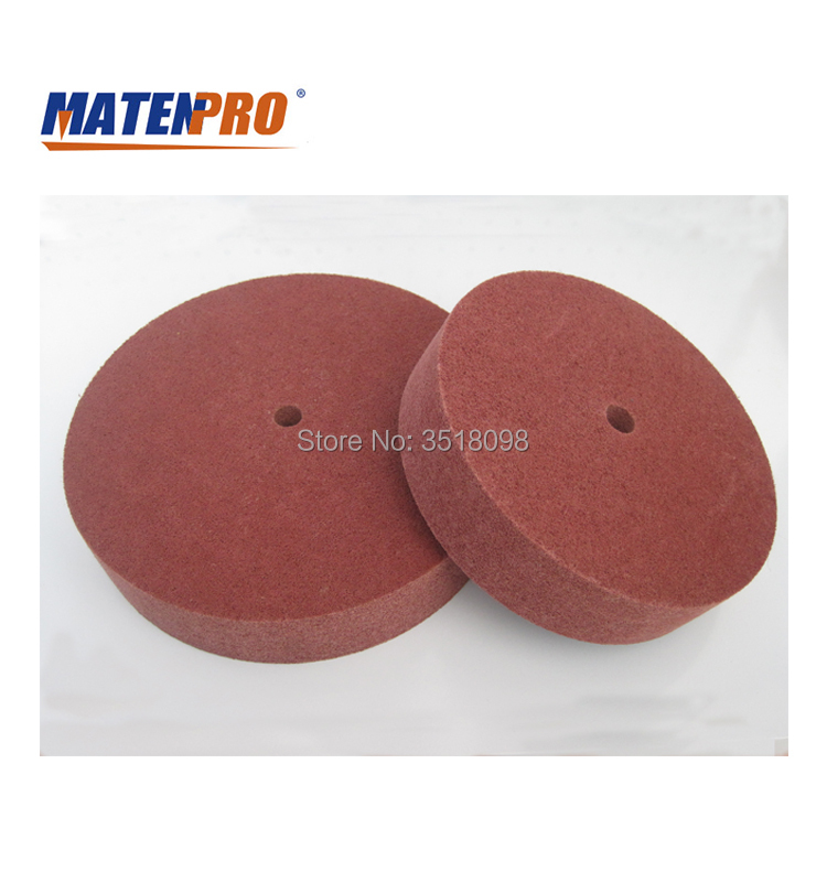 10 Inch Nonwoven Polishing Wheel, Fast Heat Dispelling, No Black Discoloration, Abrasion-resistant